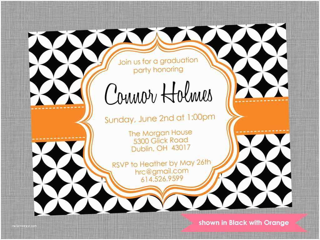 Grad Party Invites Graduation Party Invitation Templates – Gangcraft