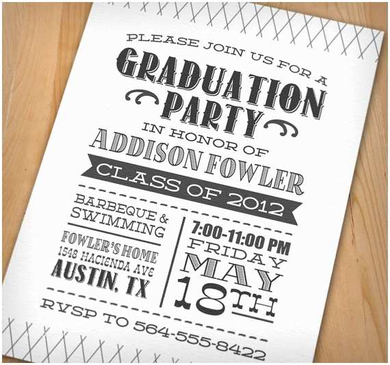 Grad Party Invites Wip Blog Graduation Party Ideas
