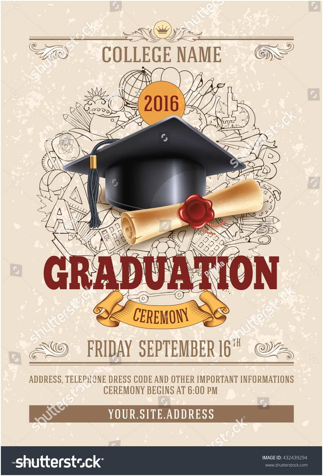 Graduation Ceremony Invitation Invitation Card Graduation Ceremony Choice Image