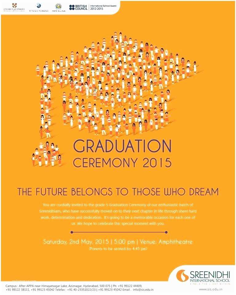Graduation Ceremony Invitation Invitations for Graduation Ceremony – Meichu2017