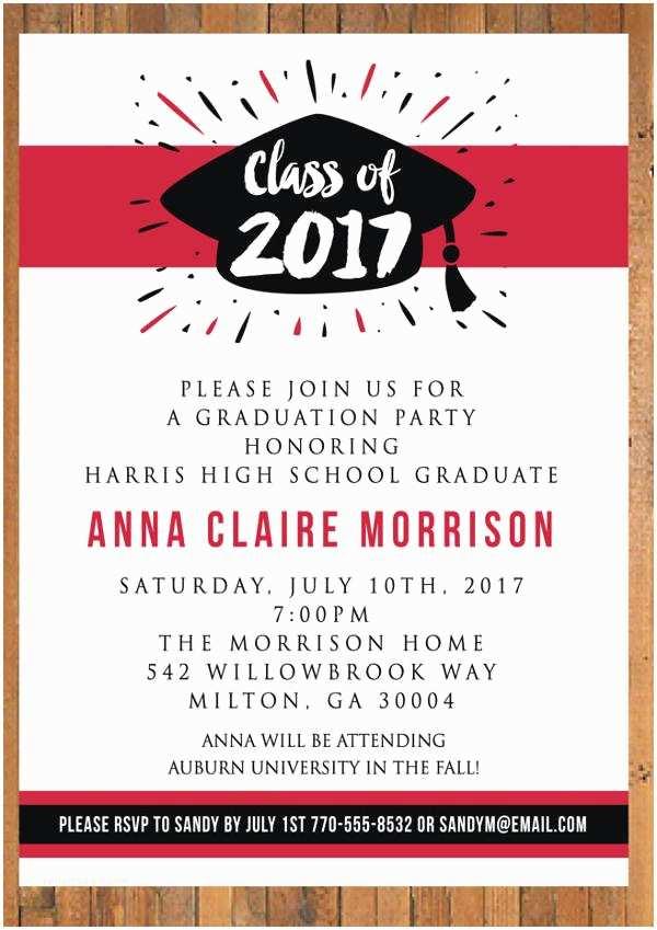 Graduation Dinner Invitations 47 Printable Invitation