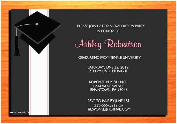 Graduation Dinner Invitations Incredible Graduation Dinner Invitation Template 9 Image