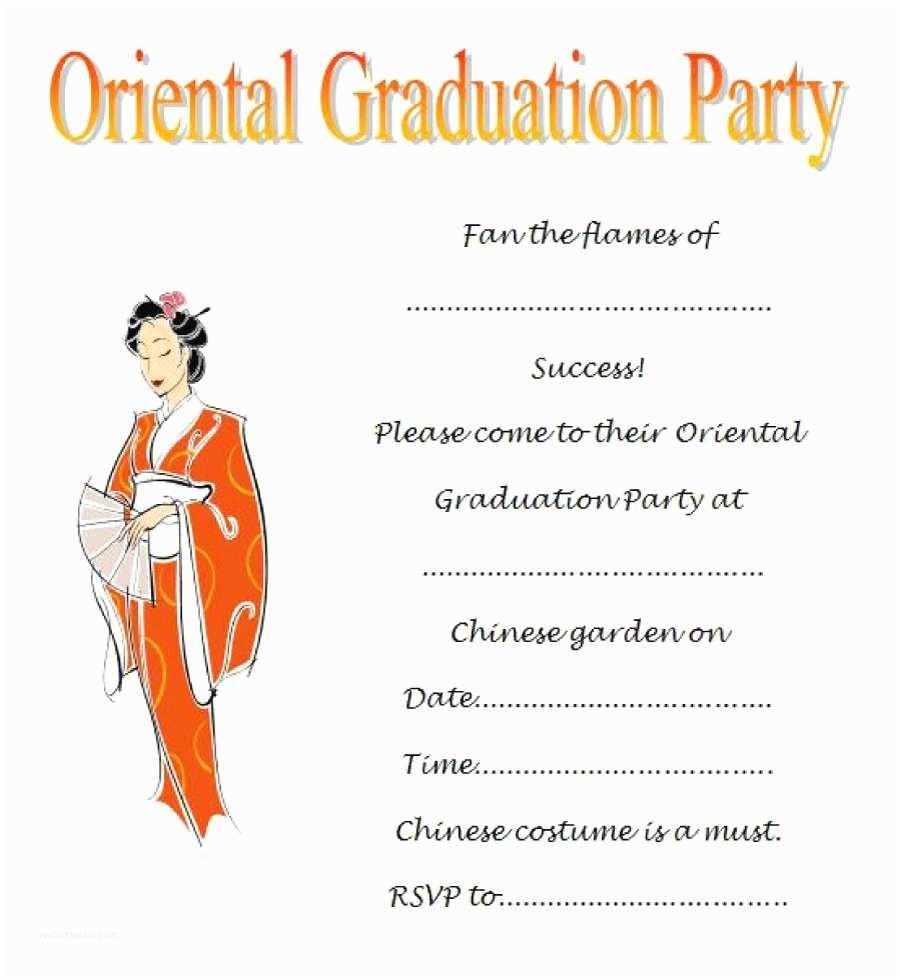 Graduation Invitation Examples 40 Free Graduation Invitation Templates Template Lab