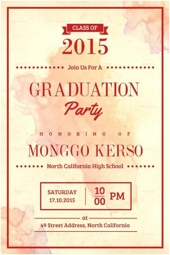 Graduation Invitation Examples Graduation Invite Templates – Gangcraft