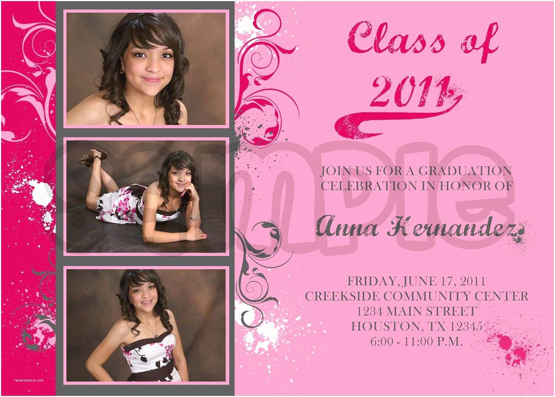 Graduation Invitation Ideas High School Graduation Invitations for Girls