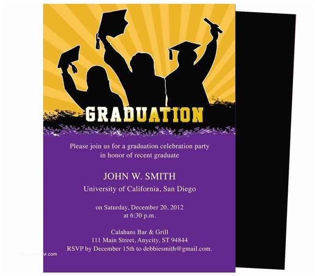 Graduation Invitation Templates Best 46 Printable Diy Graduation Announcements Templates