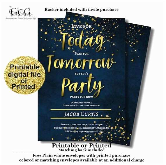 Graduation Invitations 2018 101 Best Black and Gold Graduation Party Images On