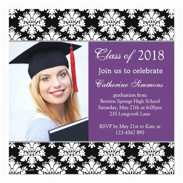 Graduation Invitations 2018 2018 Graduation Party Invitations Zoro Blaszczak