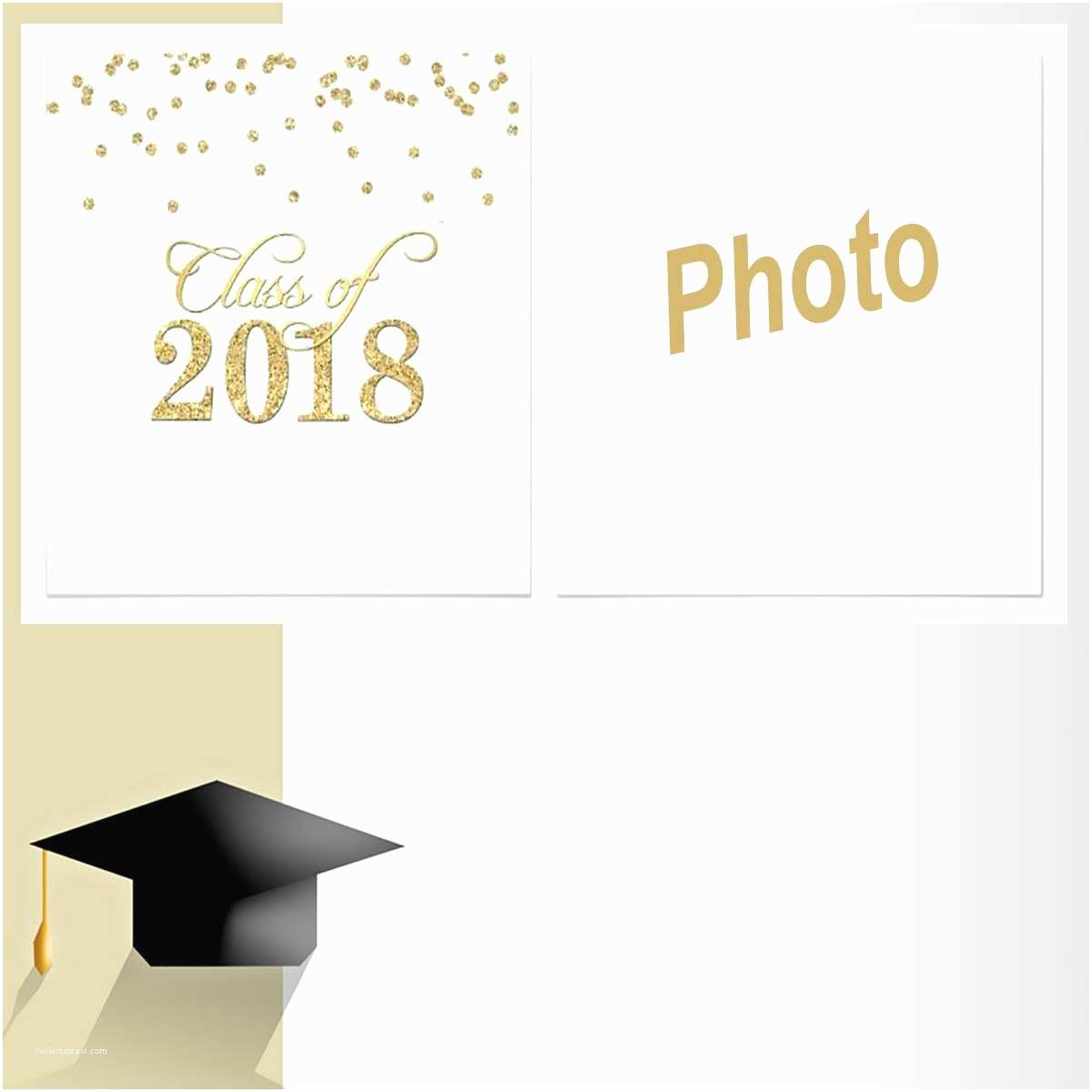image regarding Printable Graduation Announcements named Commencement Invites 2018 Cost-free Printable Commencement