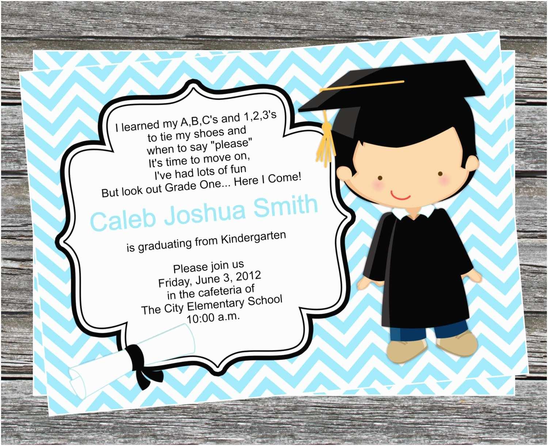 Graduation Invitations 2018 Graduation Invitation Templates Kindergarten Graduation
