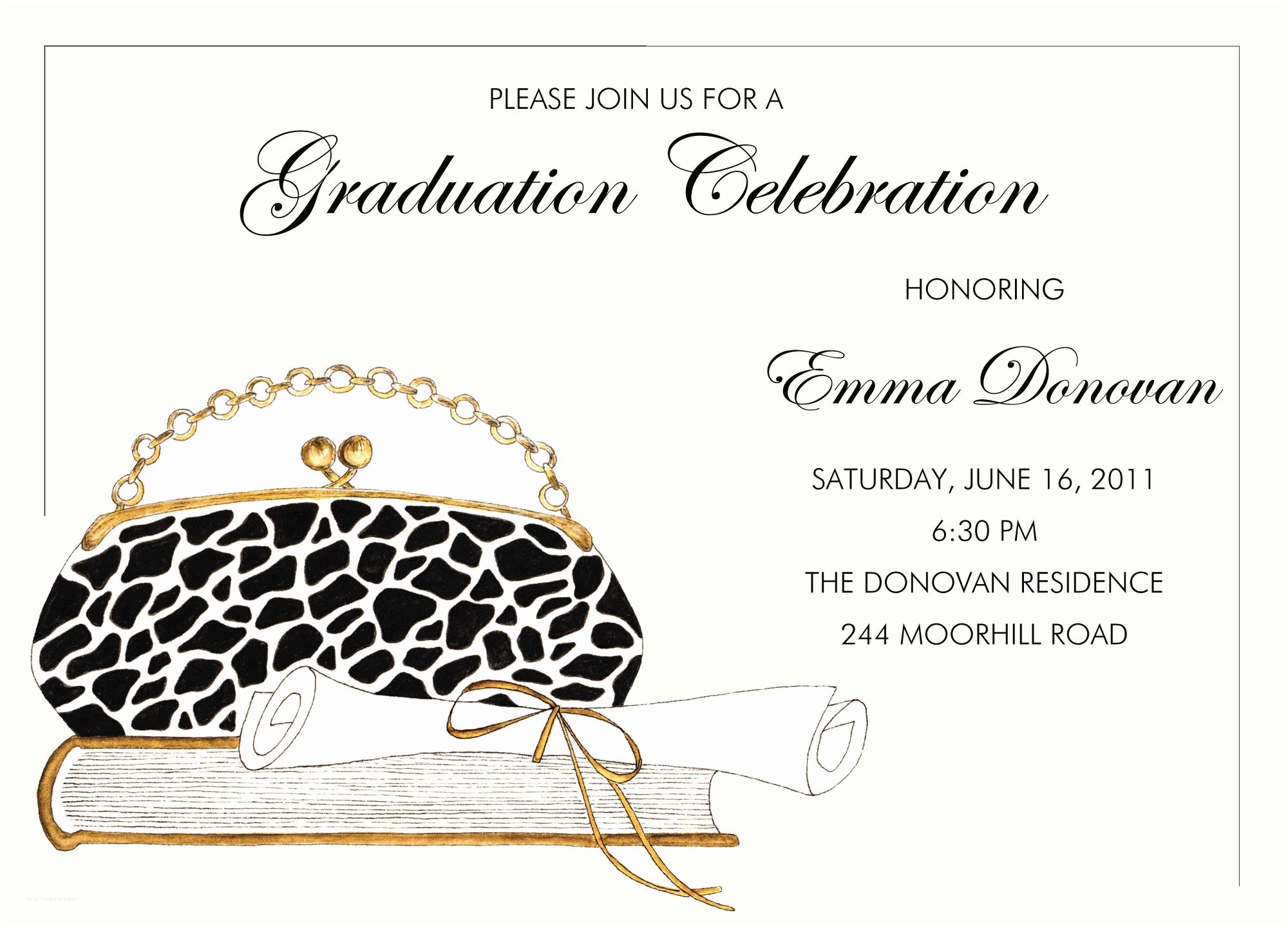 graduation party invitation printable