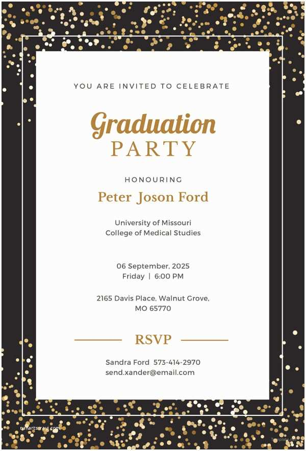 Graduation Invitations Templates Free 19 Graduation Invitation Templates Invitation Templates