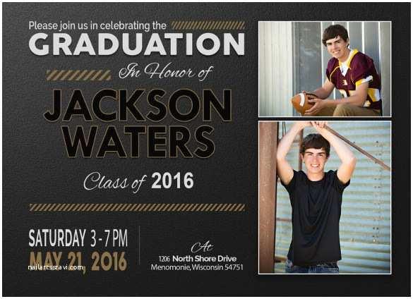 Graduation Invitations Templates Free 19 Graduation Invitation Templates Invitation Templates