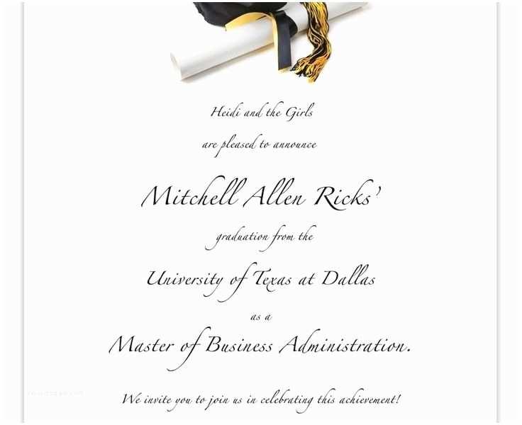 Graduation Invitations Templates Free Free Printable Graduation Invitation Templates Cobypic