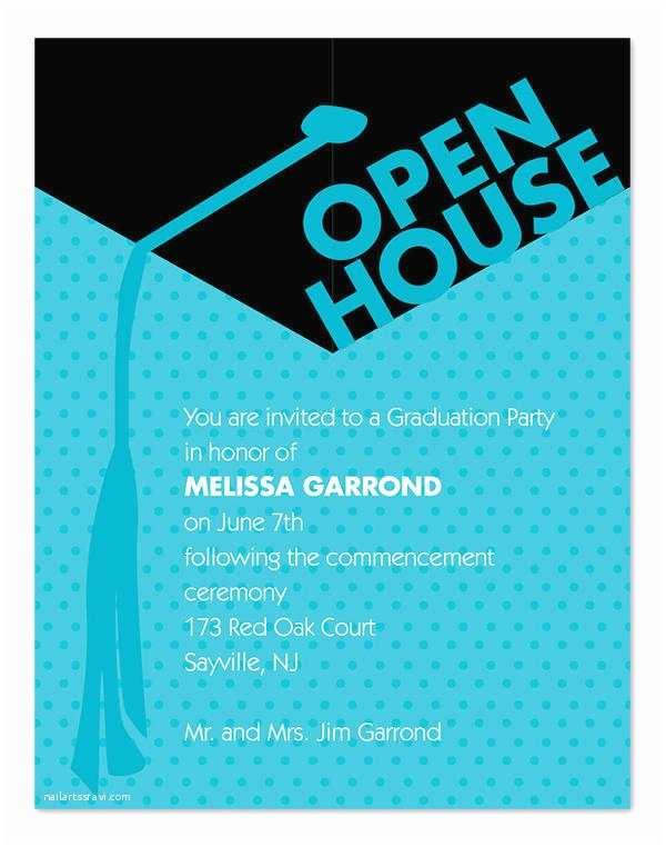 Graduation Open House Invitation Wording 45 Graduation Invitation Designs