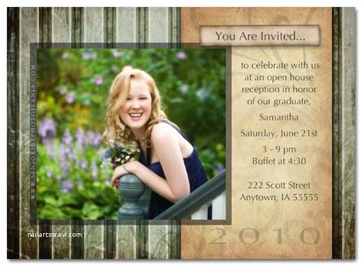 Graduation Open House Invitations Gallery for Graduation Open House Invitation Ideas
