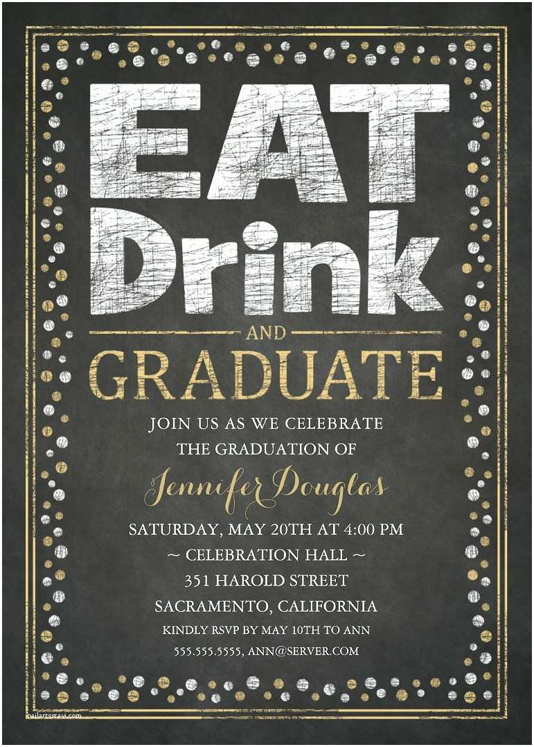 Graduation Party Invitation Graduation Party Invitations Unique Grad Party Invitations
