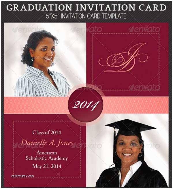 Graduation Party Invitation Templates 7 Graduation Invitation Templates