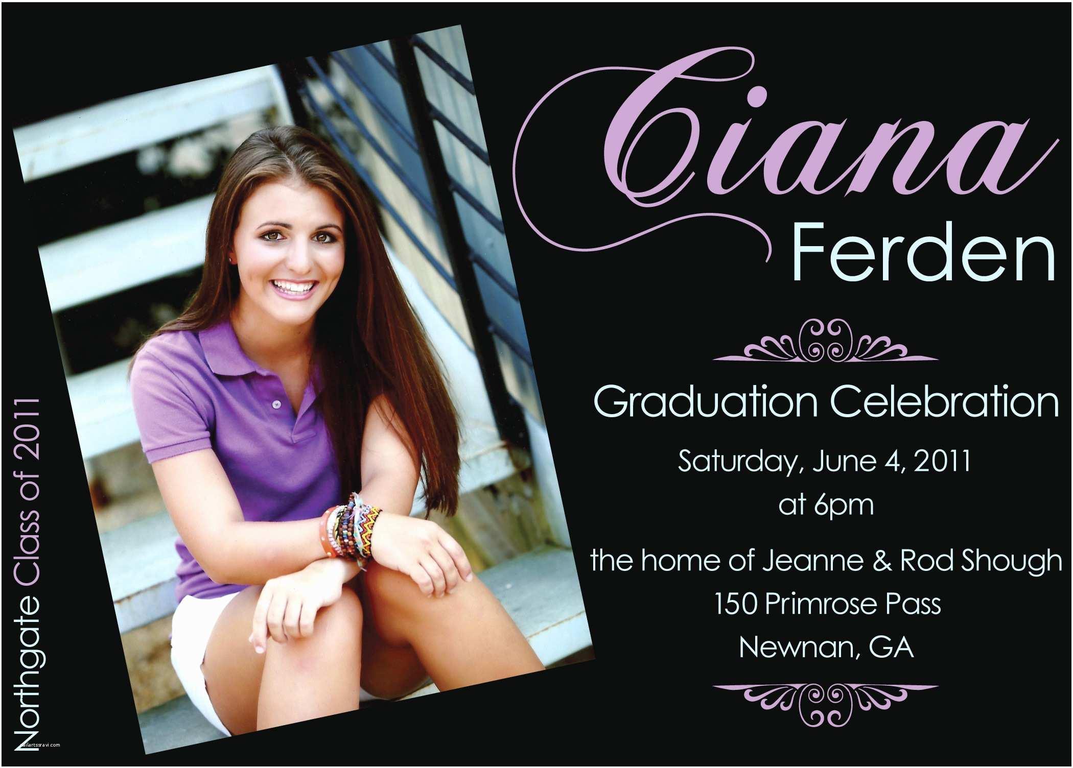 Graduation Party Invitation Templates Create Own Graduation Party Invitations Templates Free