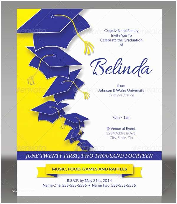 Graduation Party Invitation Templates Free Birthday Card Templates Photoshop