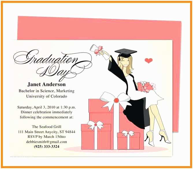 Graduation Party Invitation Templates Free Graduation Invitation Templates Free Graduation