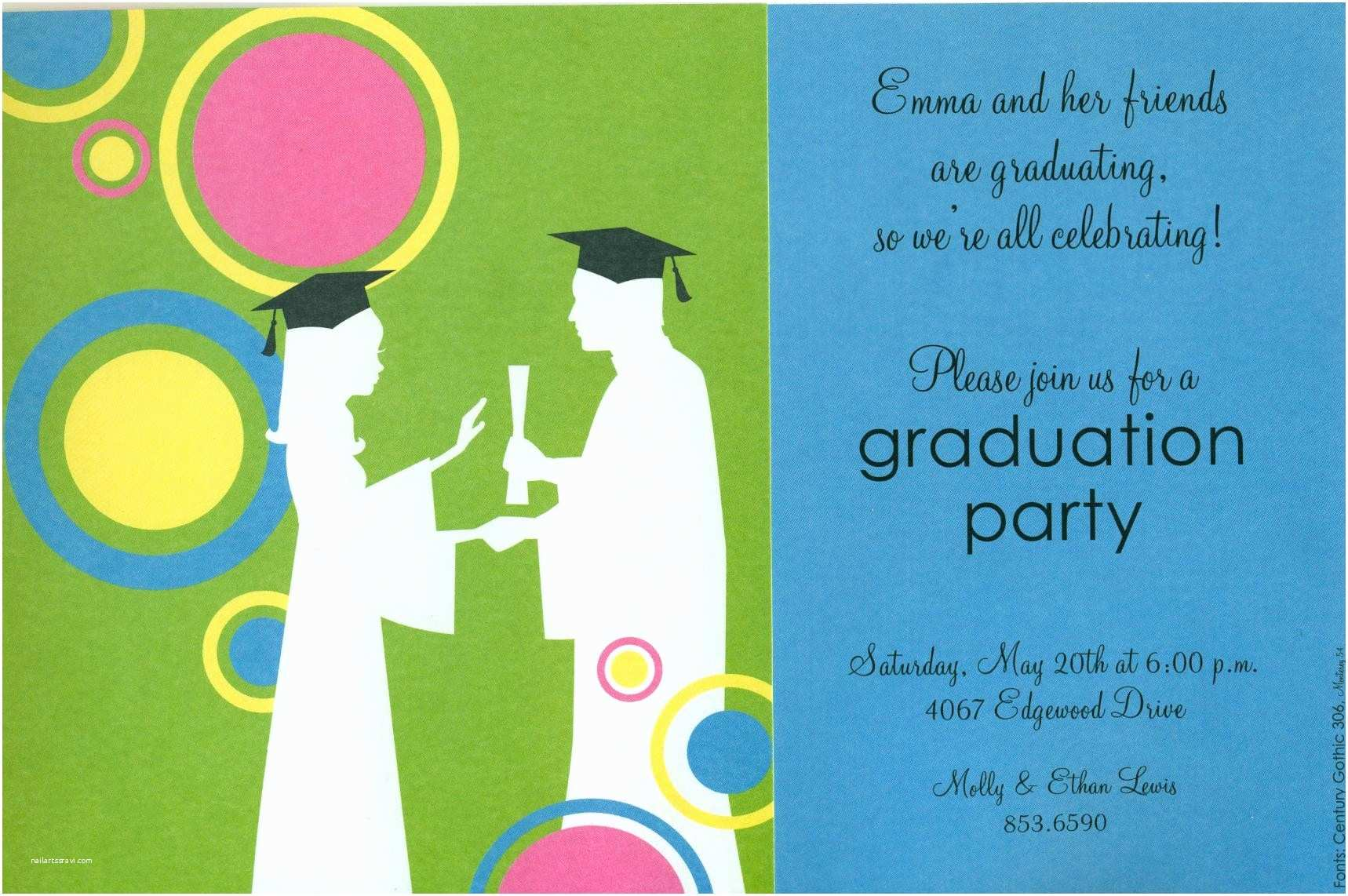 Graduation Party Invitation Wording Graduation Party Invitation Wording Templates