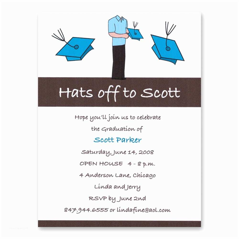 Graduation Party Invitation Wording Invitation Wording for College Graduation Party Choice