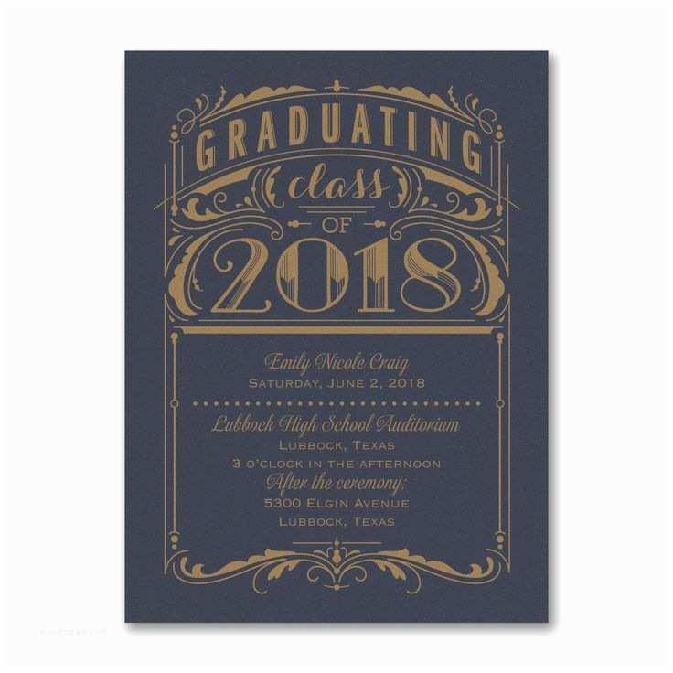 Graduation Party Invitations 2018 50 Best 2018 Graduation Invitations and Announcements