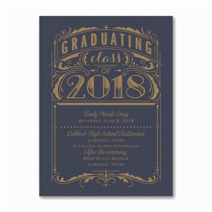 Graduation Party Invitations 2018 50 Best 2018 Graduation Invitations and Announcements