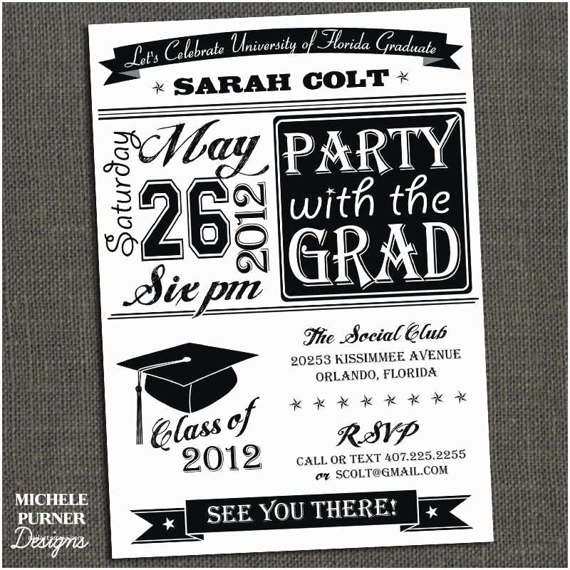 Graduation Party Invitations 2018 Free Printable Graduation Party Invitations
