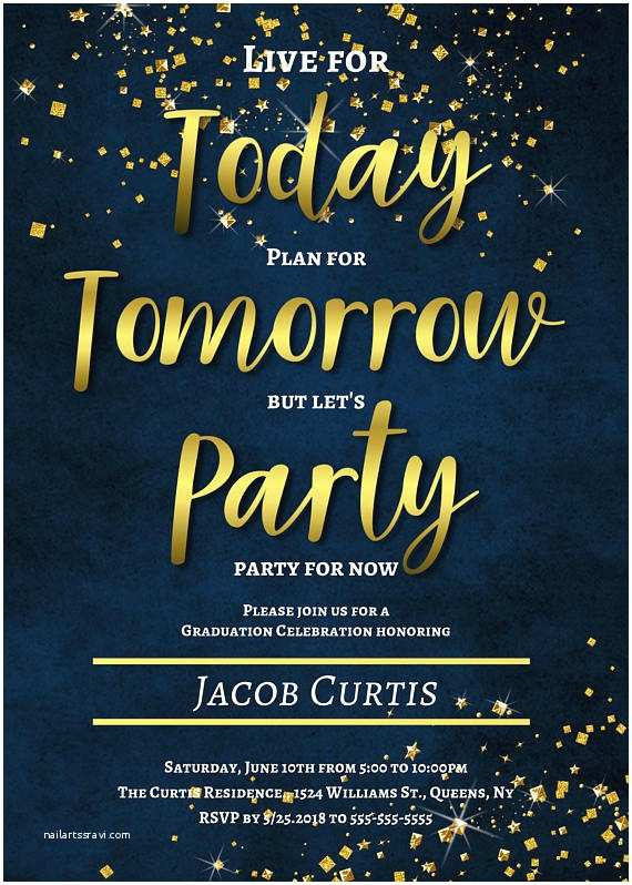 Graduation Party Invitations 2018 Graduation Invitations 2018 Graduation Announcement High