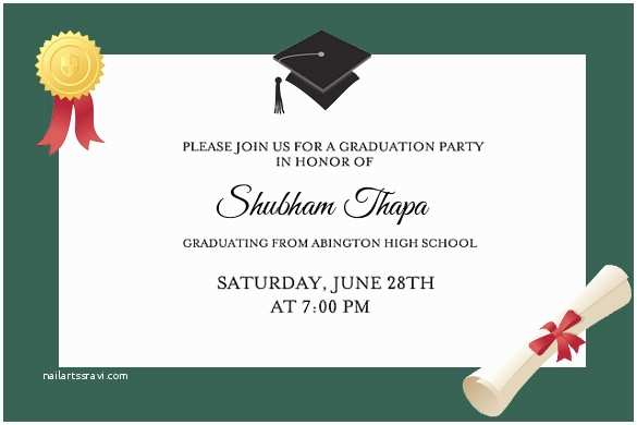 Graduation Party Invitations Graduation Party Invitations