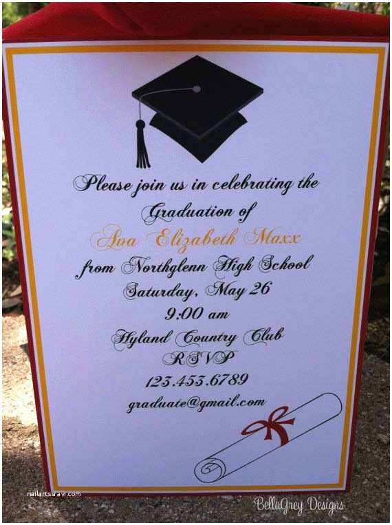 Graduation Party Invitations Ideas High School Graduation Party Ideas