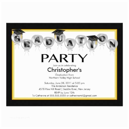 Graduation Party Invitations Ideas How to Create Graduation Party Invitation