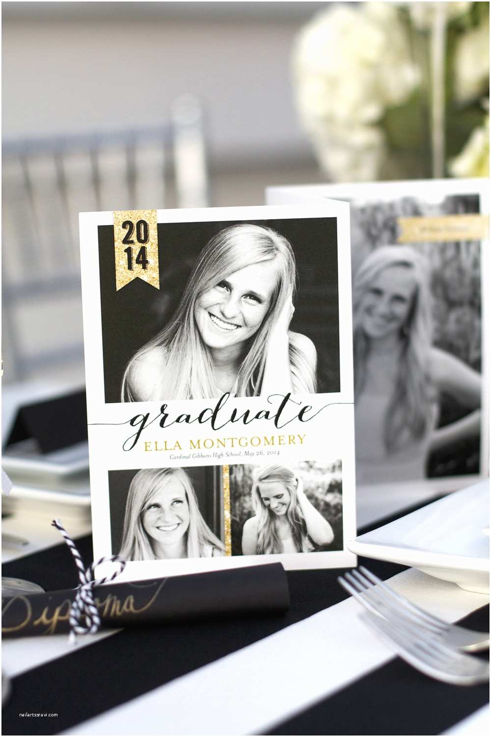 Graduation Party Invitations Ideas Sparkling Senior Graduation Party with Shutterfly — Kristi