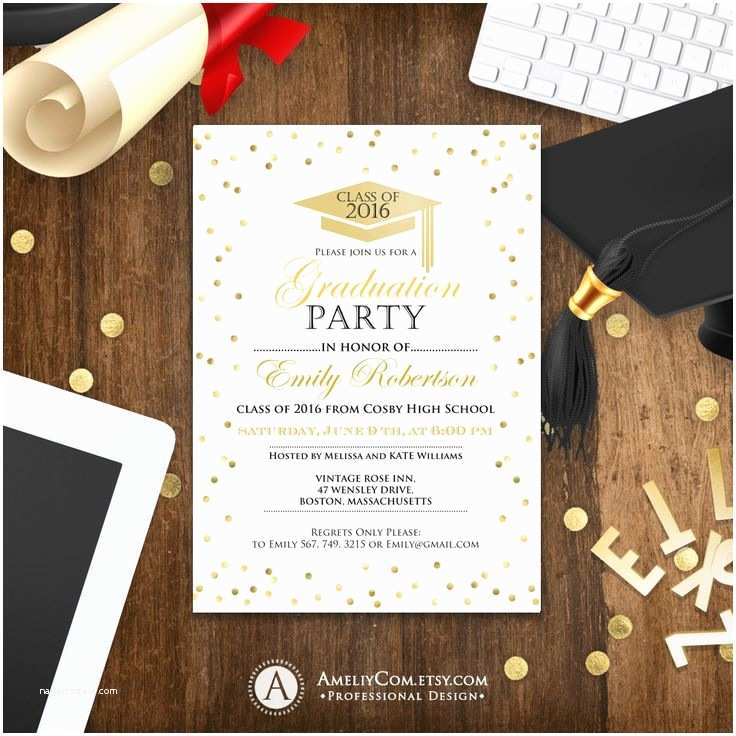 Graduation Party Invitations Ideas the 25 Best Graduation Invitation Templates Ideas On