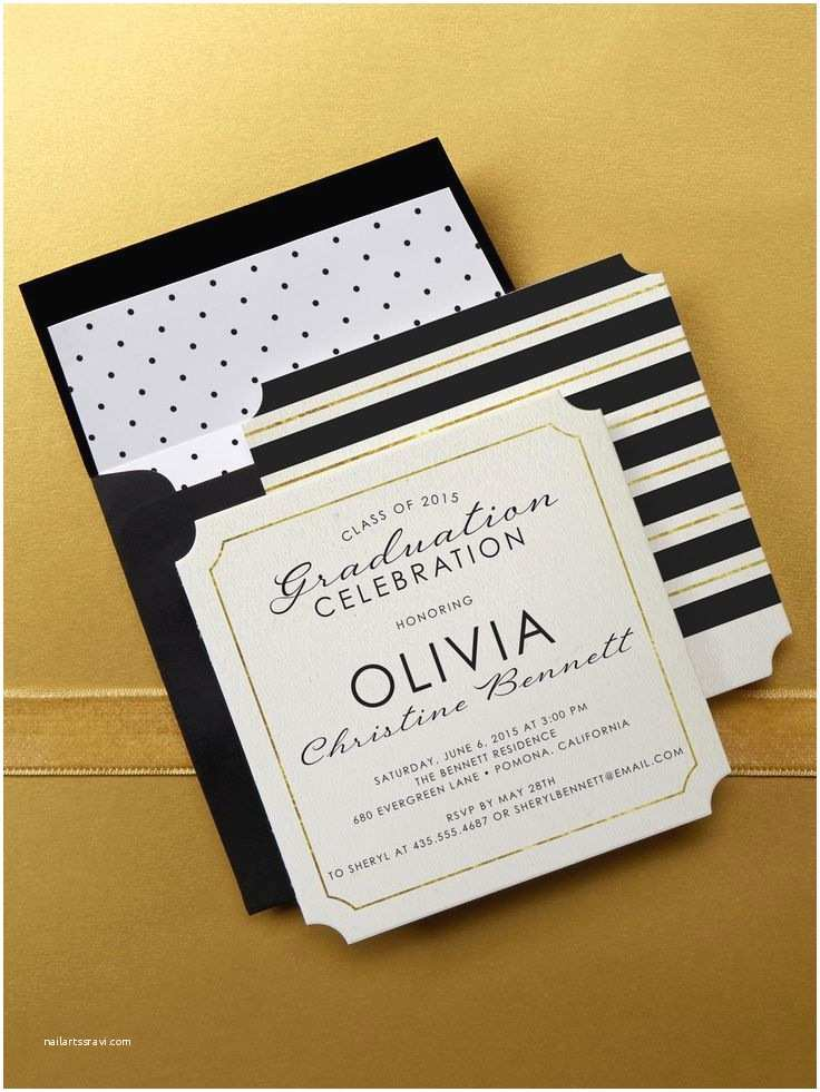 Graduation Party Invitations Ideas Unique Graduation Invitation Ideas
