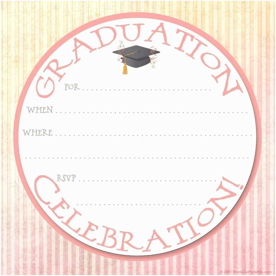 Graduation Party Invitations Templates Free 40 Free Graduation Invitation Templates Template Lab