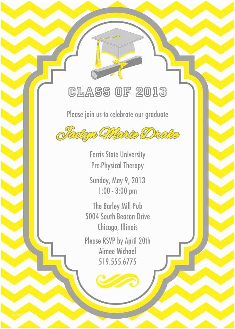 Graduation Party Invitations top 18 Graduation Party Invites for Your Inspiration