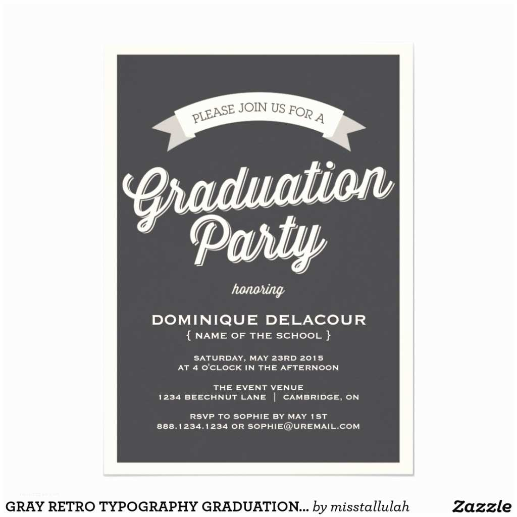 Graduation Party Invitations Unique Ideas for College Graduation Party Invitations