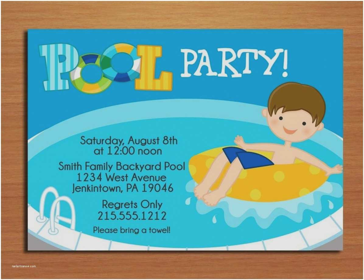 Graduation Pool Party Invitations Graduation Pool Party Invitations Invitation