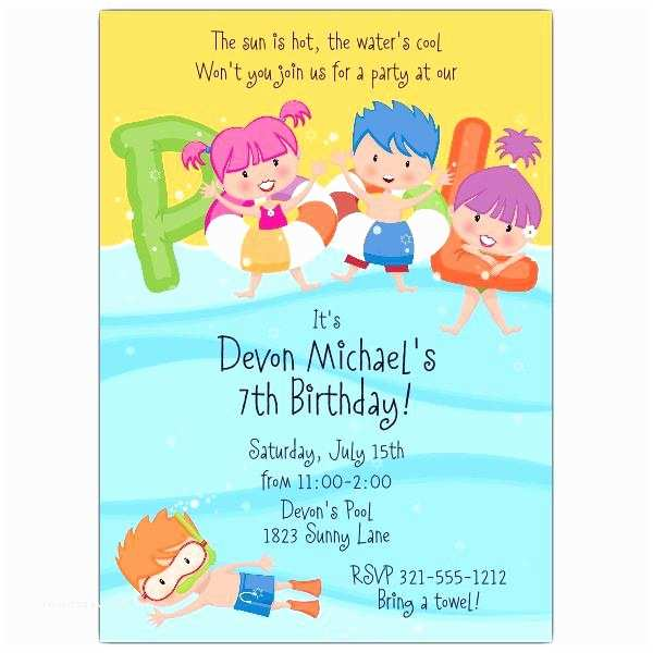 Graduation Pool Party Invitations Graduation Pool Party Invitations Pool Party Invitations