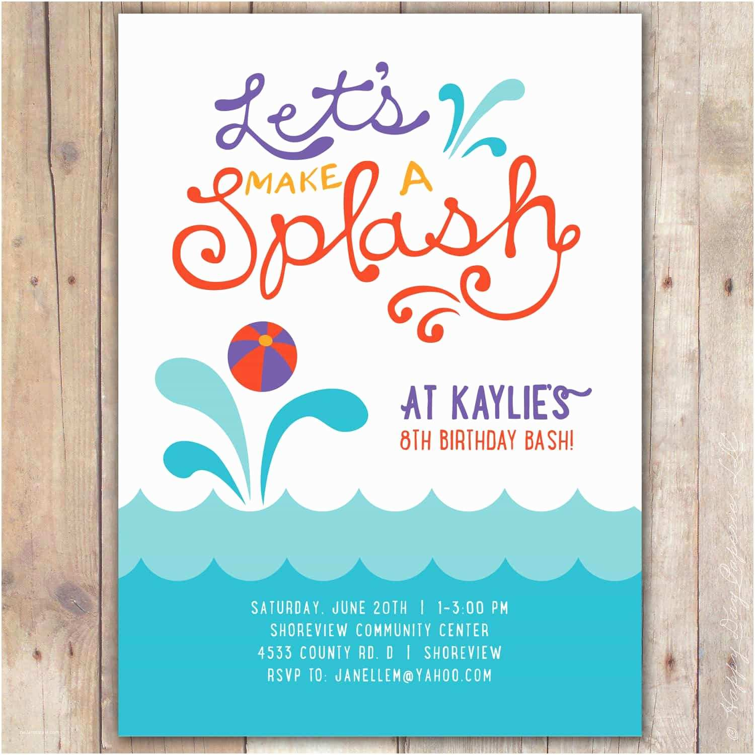 Graduation Pool Party Invitations Tips for Choosing Retirement Party Invitation Wording