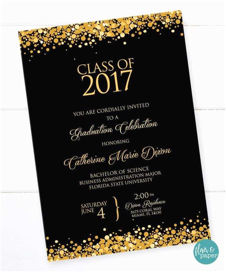 Graduation Reception Invitations College Graduation Invitations