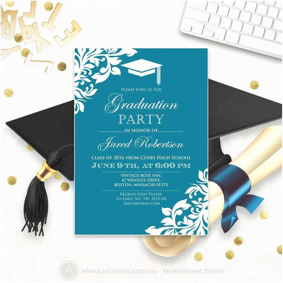 Graduation Reception Invitations Graduation Invitation Templates Graduation Invitation