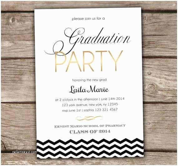 Graduation Reception Invitations Graduation Party Invitation Printed Summer Party