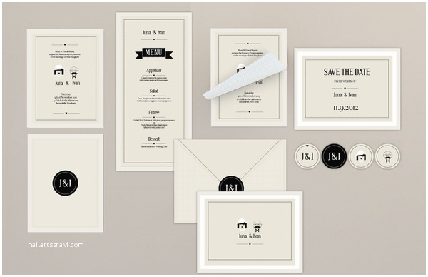 Graphic Design Wedding Invitations Graphic Design J&l Wedding Invitation by Filiz Sahin
