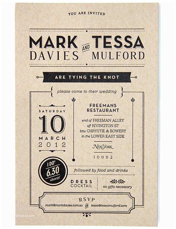 Graphic Design Wedding Invitations Graphic Design Wedding Invitation by Tessa Mulford – Ams