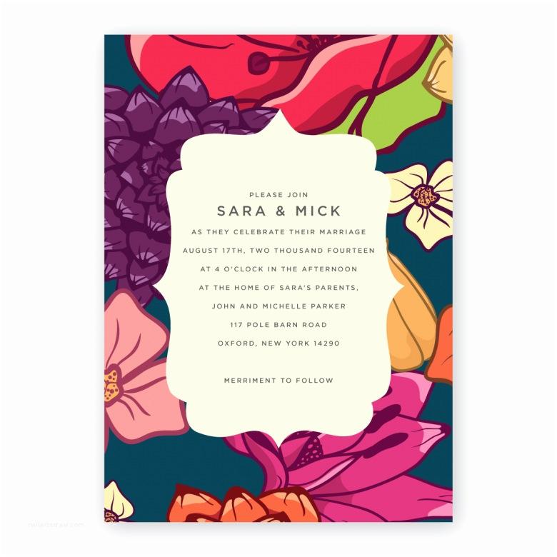diy wedding invitation design