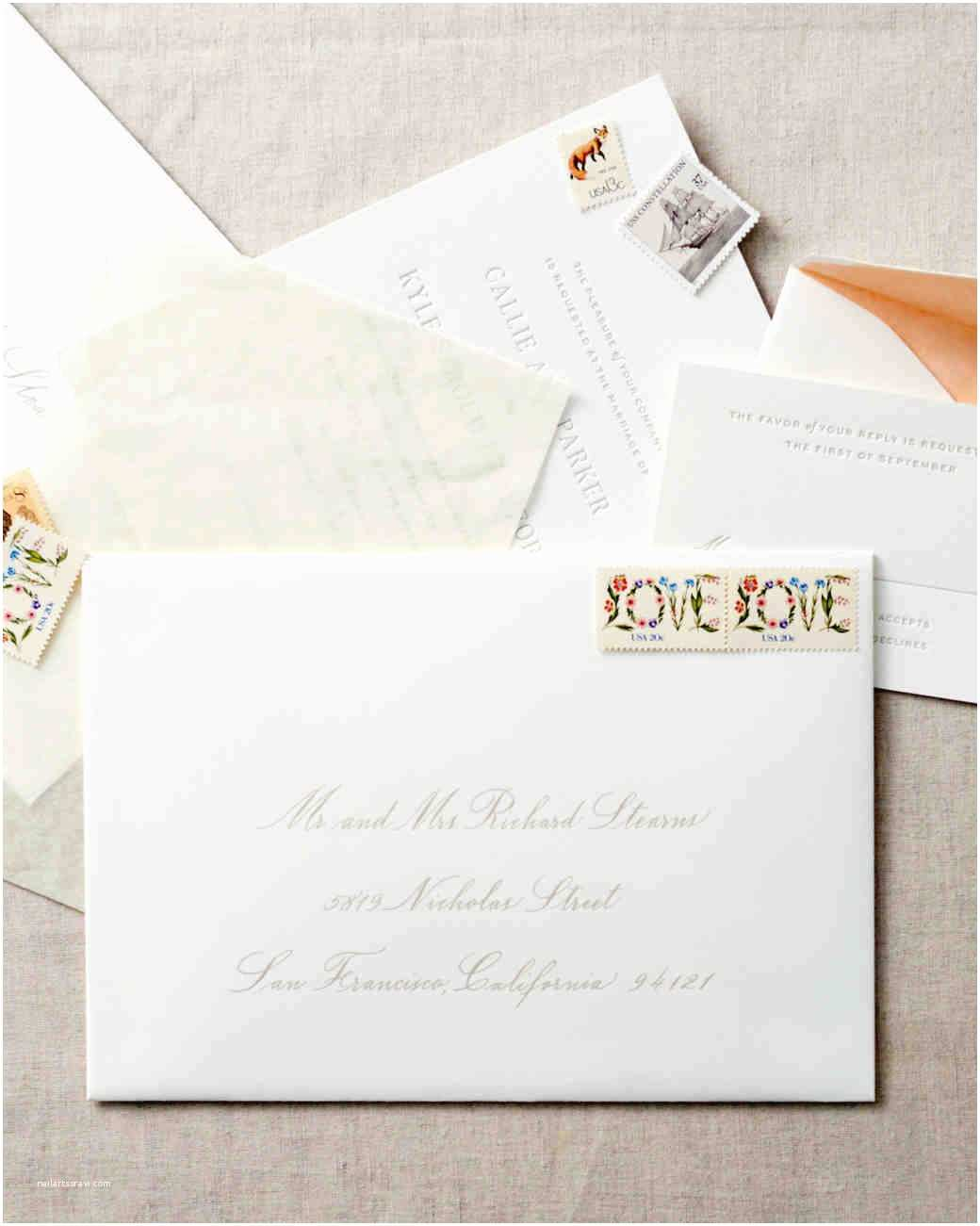 Guest Address Labels for Wedding Invitations How to Address Guests On Wedding Invitation Envelopes